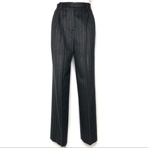 Max Mara Wool/Angora/Cashmere Charcoal Trousers